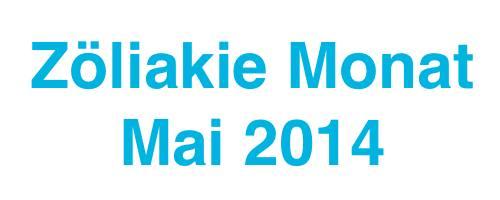 Zöliakie Monat Mai 2014 in der Schweiz
