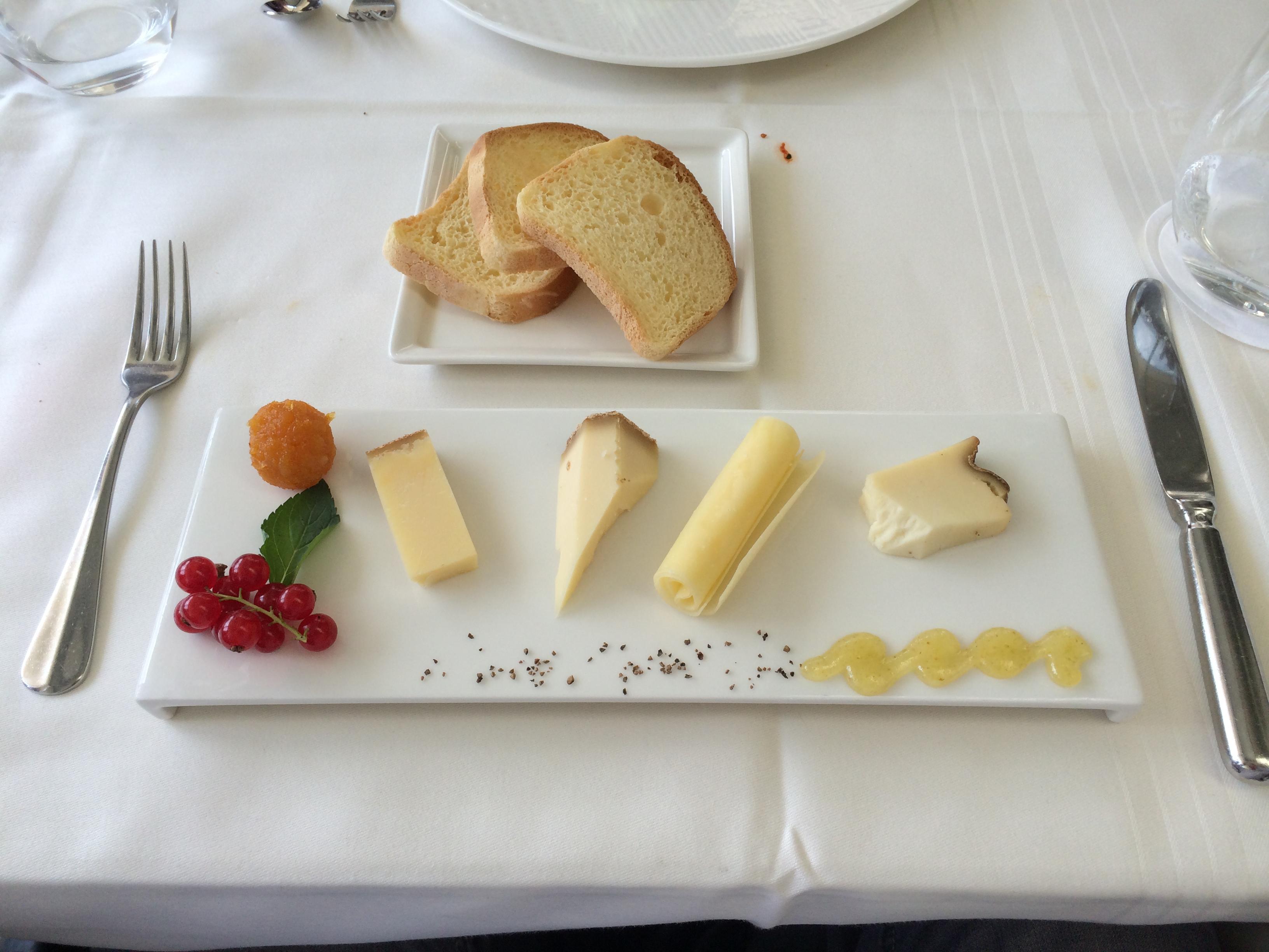 Das Dessert - Restaurant Des Balances in Luzern