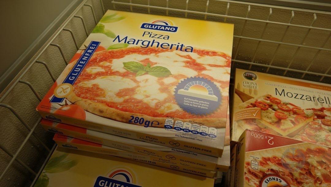 Glutenfreie Pizza im Lidl